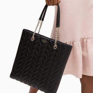 Kate Spade Briar Lane North South Quilted Tote